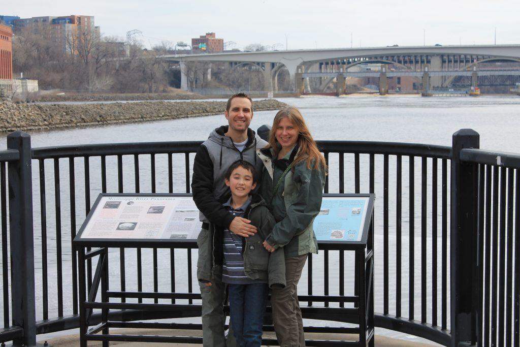 Doris with son Ryan, grandson-Blake