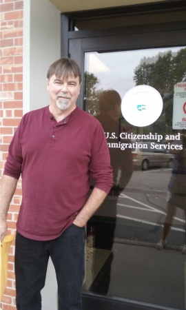 The immigration office in St. Paul, MN