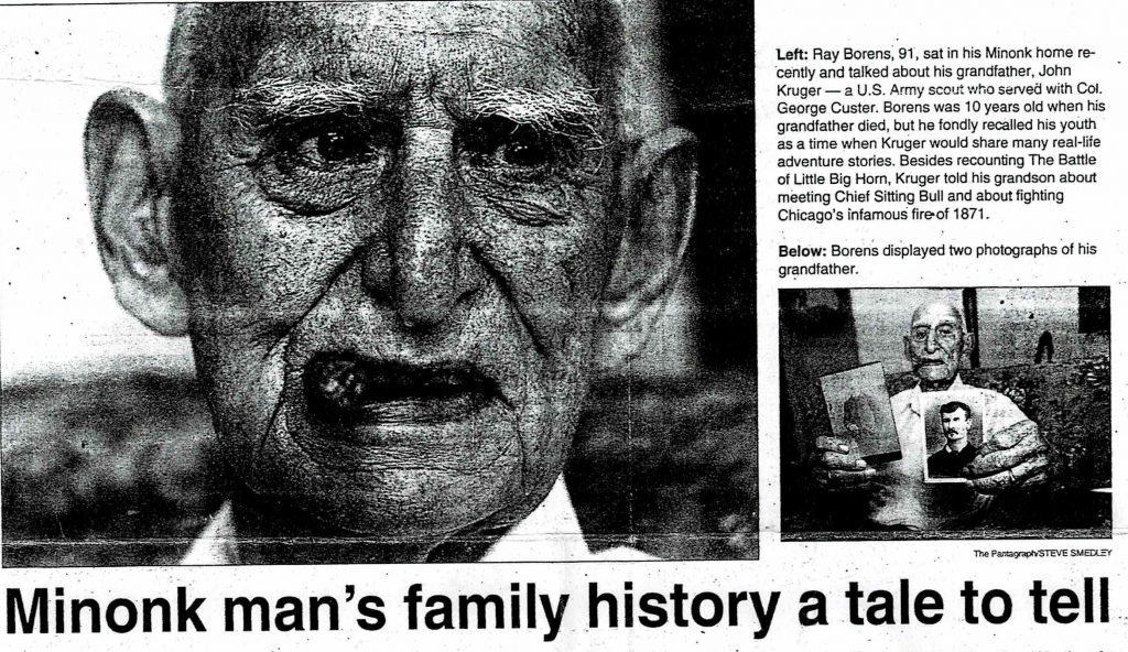 Great Uncle Ray Borens - 1999 – The Pantagraph
