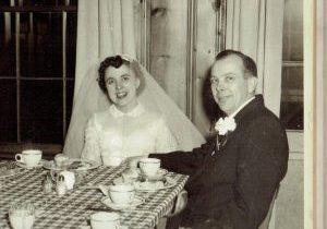 Mom and Dad at their reception (3)