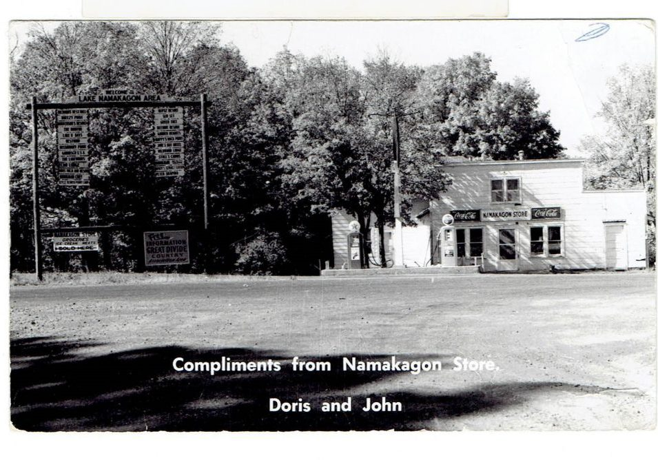 The Country Store-Postcard